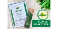 MIRRA признана Лучшей компанией-производителем экологически безопасной продукции в категории Косметика.